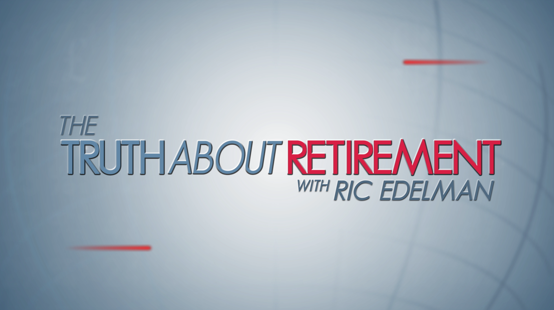 Truth About Retirement | Pledge Special