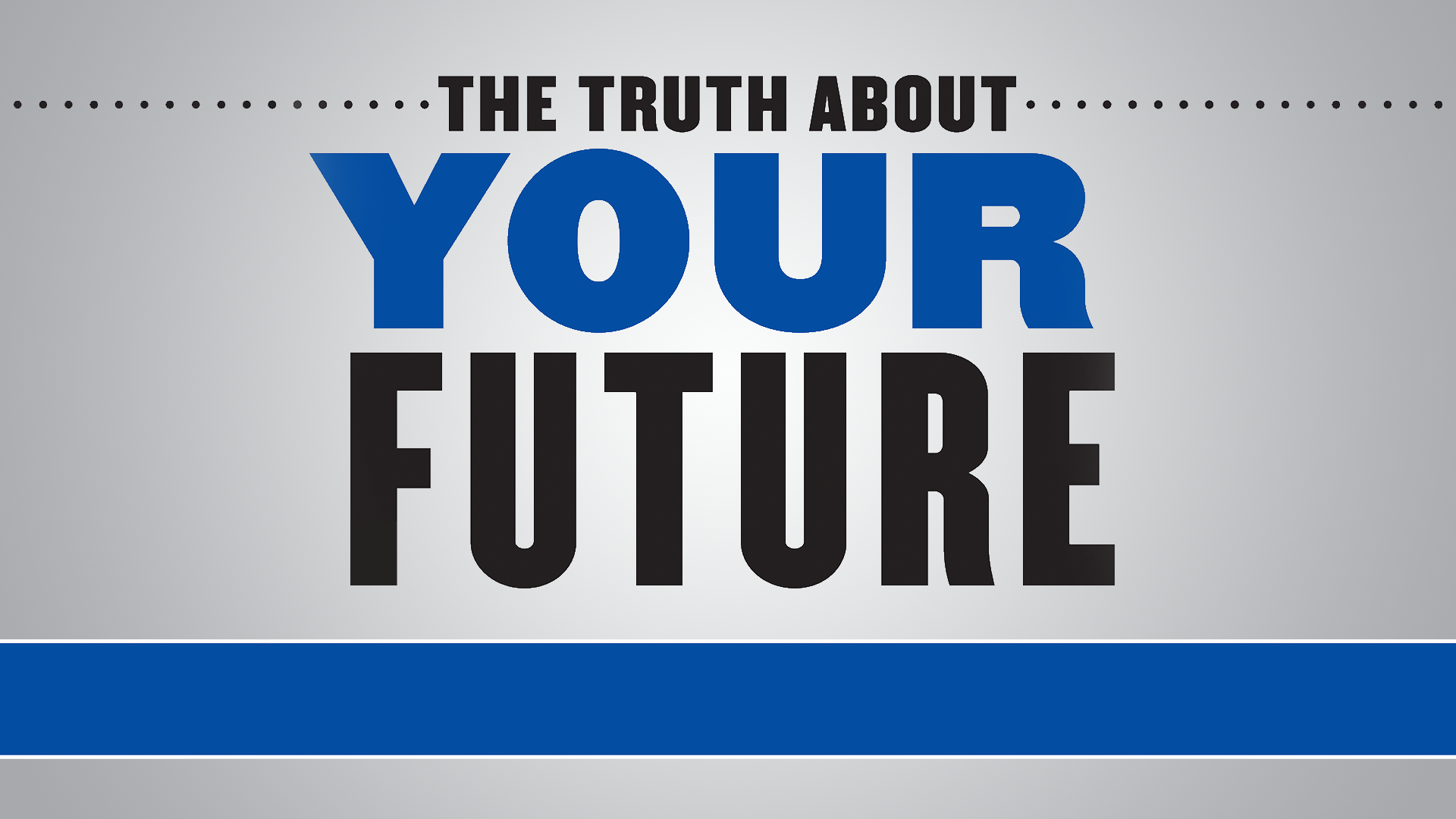 Ric Edelman's The Truth About Your Future | Pledge Special